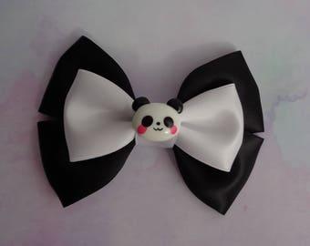Panda Pop Bow | Panda Inspired | Animal Inspired Hair Bow | Inspired Hair Bow