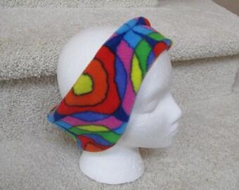 Stained Glass Fleece Headband