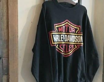 Vintage 90s Harley Davidson Sweatshirt