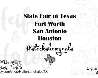 State Fair Of Texas Etsy - Houston state fair