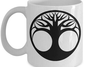 Tree Of Life Coffee Mug and Tea Cup, Beautiful Serene Image Ta Start Your Day, Thoughtful Gift