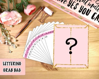 Mystery Grab Bag (Lettering)