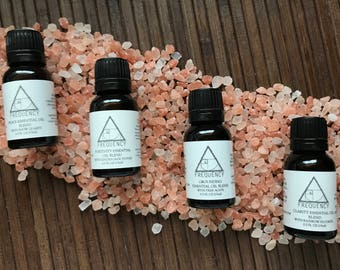 Crystal Infused Essential Oil Blend Bundle