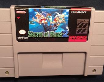 Secret of Mana 2  English Translation SNES Reproduction Game