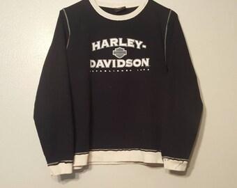 Black Harley Davidson Sweater