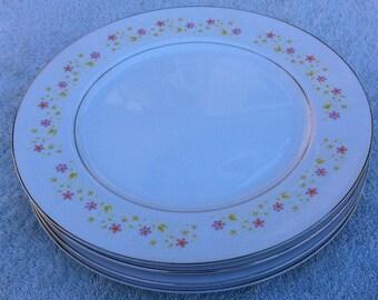 Towne House Japan Clairmont 3279 four (4) dinner plates