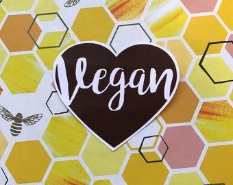Vegan Vinyl  Sticker
