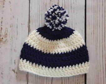 Hat crochet sailor