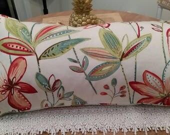 Decorative pillow with vibrant colors