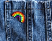 Rainbow - pin badge...