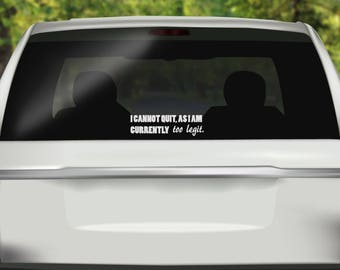 Funny Car Decal Etsy - Stickers and decals for cars
