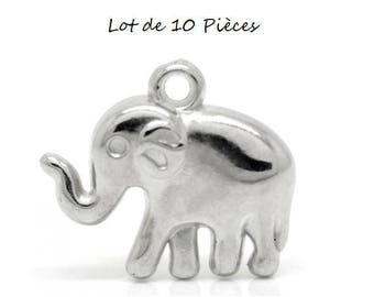 Set of 10 CCB (D04) animals Elephant charms