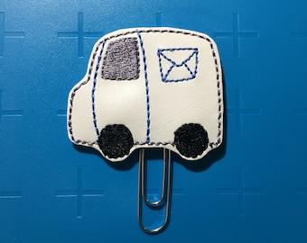 Mail Truck Planner Clip