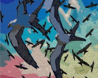 Swallow-Tailes Kites