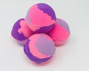 New! 6 Camo Princess Girls Bath Bomb 7.0 oz Easter Bath Bomb Gift Set. All Natural & Homemade with Texas Size Love
