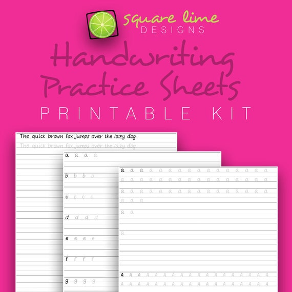 handwriting practice sheets uppercase lowercase. Black Bedroom Furniture Sets. Home Design Ideas