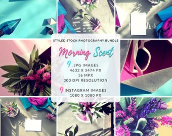 Social Media Bundle, Lifestyle Photography Bundle, Styled Photo Shoot, Photo For Website, Instagram and Pinterest, Flat Lay, Staged Photo