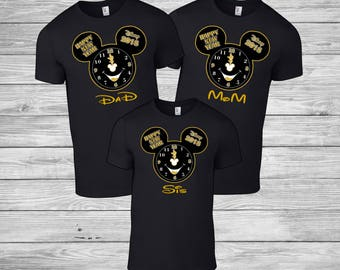 Disney Mickey and Minnie New Years 2018 shirt / Mickey and Minnie Mouse personalized shirt / Disneyland / Disney Cruise Vacation Shirts