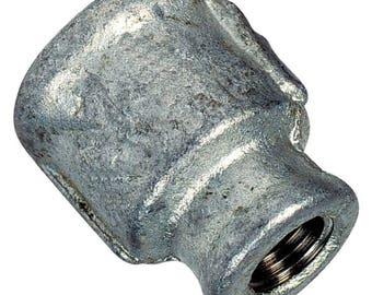 Steel galva sleeve plumbing fitting reduces FF