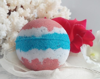BATH BOMB - 4th of July - Independence Day - Shower Steamer - Bath Pop - Father's Day - Bath Bombs for Him or Her - Patriotic Red White Blue
