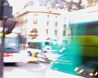 Street Photo. High Exposure/Blurred
