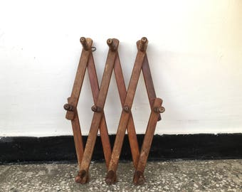 Hanger, Folding hanger, Clothes hanger, Coat rack, Home Decor, Wooden hanger, Vintage  hanger