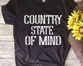 Country State Of Mind Tee