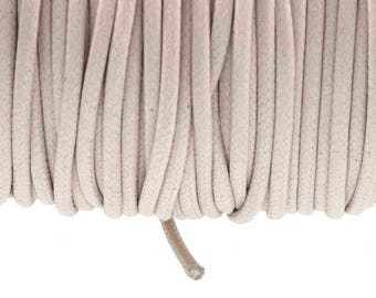 2.7 mm bone waxed cotton cord