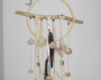 """Dream catcher or mobile """"Edges of the sea"""""""