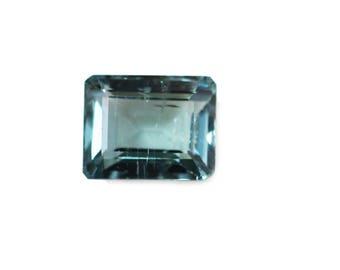 Christmas Sale - AAA Quality Natural Brazilian Blue (Indicolite) TOURMALINE Octagon Shape / 9.0 x 11.0 x 6.0 mm