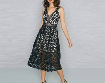 Joy Lace Dress
