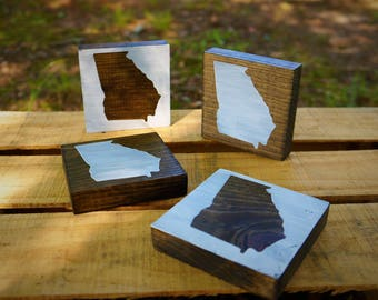 "4""x4"" Set of 4 Coaster Set"