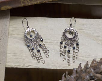 chandelier, witch, Gothic, Bohemian earrings, witch, magic, chic