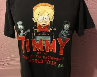 South Park Timmy & Lords Of The Underworld T-Shirt M 2000