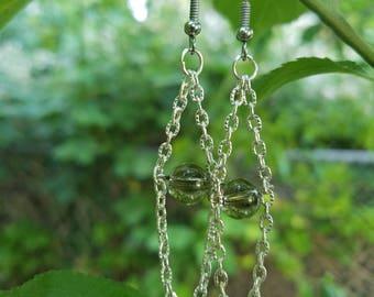 Smokey Quartz Dangle Earrings