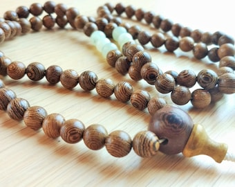 108 wood mala (size 8 mm)