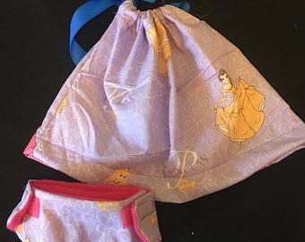 Disney princess doll dress set
