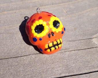 Sugar skull Charm