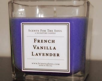 French Vanilla Lavender Candle