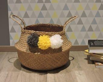 Basket ball Thai tassels wool