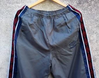 Vintage Rare! 90s UMBRO Nylon Pant