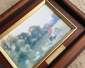 Framed Picture 'A Day on the River'