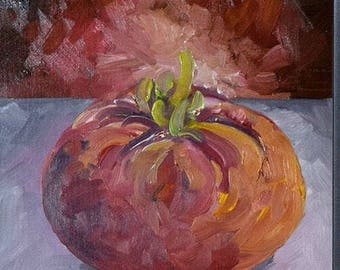 Heirloom Tomato - Painting a Day Series