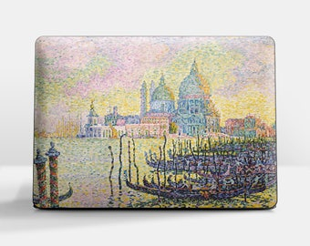 "Laptop skin (Custom size). Paul Signac, ""Grand Canal"". Laptop cover, HP, Lenovo, Dell, Sony, Asus, Samsung etc."