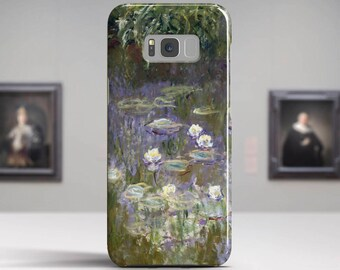 """Claude Monet , """"Water Lilies"""". Samsung Galaxy Note 8 Case Google Pixel XL Case LG G6 case Galaxy A3 2017 Case and more."""