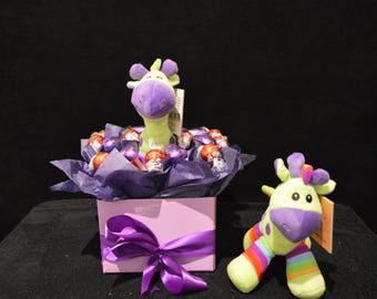 Gerry Girafee Chocolate Baby Bouquet
