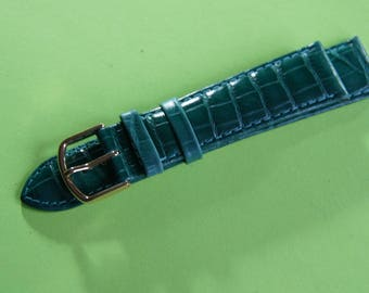 The brand Marcco 20 mm genuine leather watchband