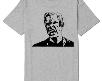 Spike Buffy the Vampire Slayer T Shirt Clothes Many Sizes Colors Custom Horror Halloween Merch Massacre