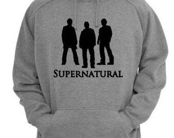 Supernatural Winchester Unisex Hoodie Pullover Hooded Sweatshirt Many Sizes Colors Custom Horror Halloween Merch Massacre
