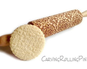 ARABESQUE, Beautifully decorated biscuits for celebrations, meeting, occasions, birthday, holidays, name day, wedding, for her, Rolling pin